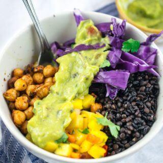 Chickpea Breakfast Burrito Bowls