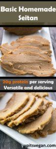 Basic Homemade Seitan | Yup, it's Vegan