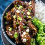 Mongolian Seitan (Vegan Mongolian Beef) | Yup, it's Vegan