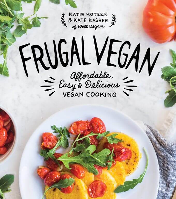 Frugal Vegan Book Cover - Affordable, Easy and Delicious Vegan Cooking