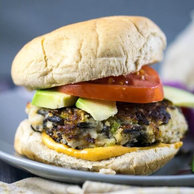 Wild Rice Burgers | Yup, it's Vegan
