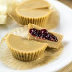 Peanut Butter and Jelly Cups | Yup, it's Vegan