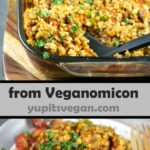 Baked Farro with Tomatoes and Herbs | Yup, it's Vegan
