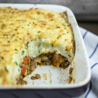 Vegan Shepherd's Pie with Lentils | Yup, it's Vegan