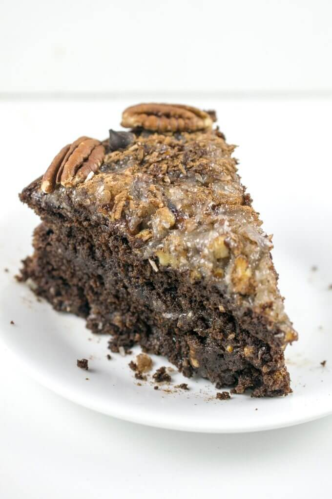 Easy Layered German Chocolate Cake