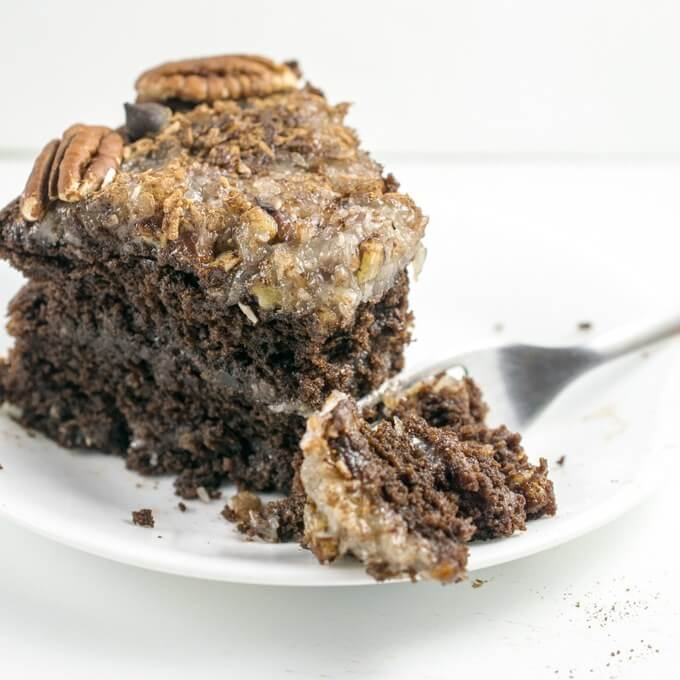 Chef Aj German Chocolate Cake Recipe
