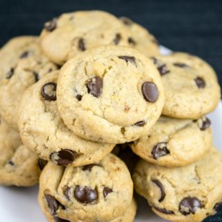 Classic Vegan Chocolate Chip Cookies