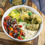Za'atar Crusted Cauliflower Bowls | Yup, it's Vegan