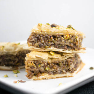 Vegan Baklava (with Step-by-Step Pictures)