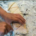 Vegan Scones | Cutting Triangles