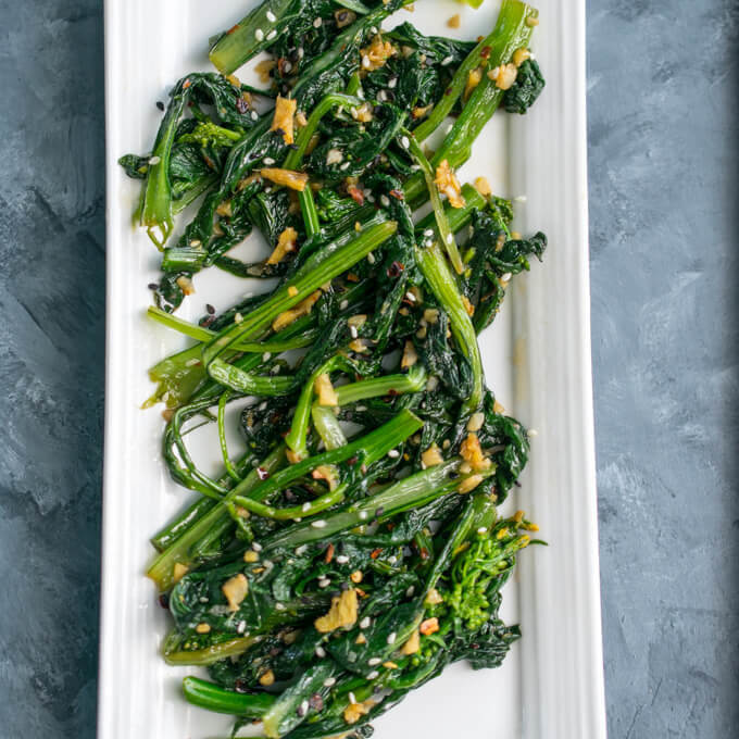 Vegetable Spotlight: Stir-Fried Choy Sum (Gunsho)