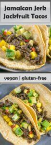 Jamaican Jerk Jackfruit Tacos | Yup, it's Vegan
