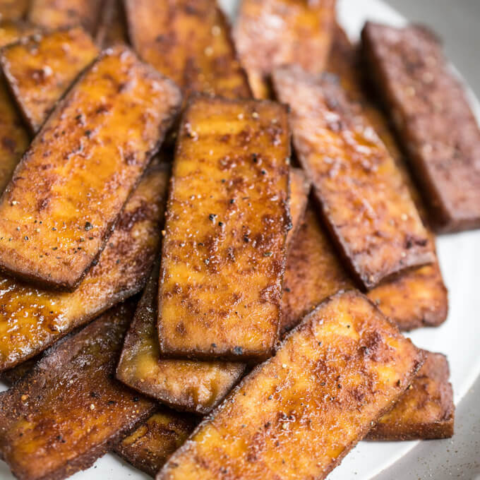 Tofu Bacon | Yup, it's Vegan