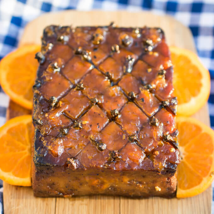 Glazed Tofu Roast | Yup, it's Vegan