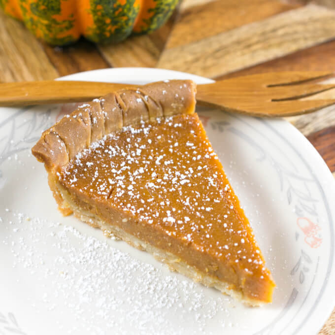 Vegan Sweet Potato Pie | Yup, it's Vegan