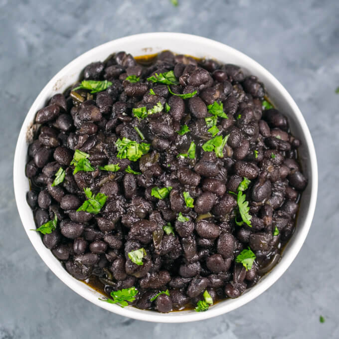 Instant Pot Black Beans | Yup, it's Vegan