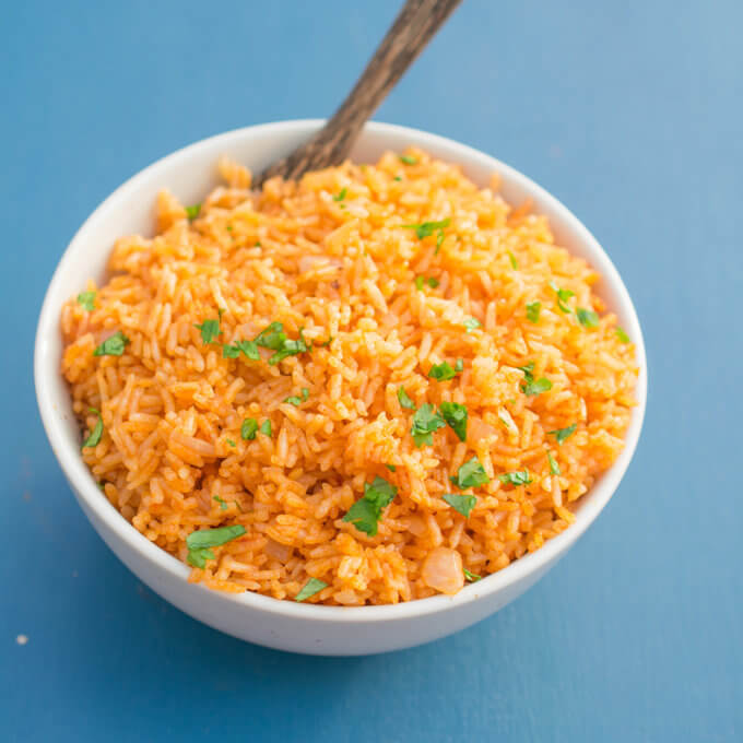 Instant Pot Mexican Rice | Yup, it's Vegan