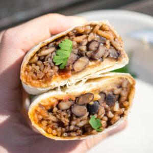 Freezer-Friendly Vegan Burritos