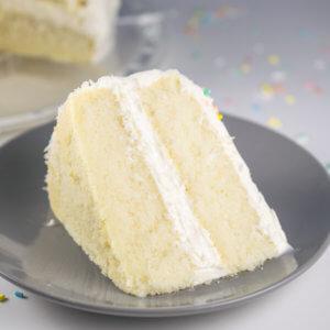 Bakery-Style Vegan White Cake