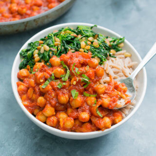 Chickpeas Fra Diavolo | Yup, it's Vegan
