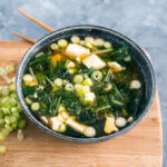 15-Minute Miso Soup with Greens | Yup, it's Vegan