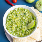 Green Tomato Salsa Verde | Yup, it's Vegan