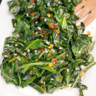 Sauteed Collard Greens | Yup, it's Vegan