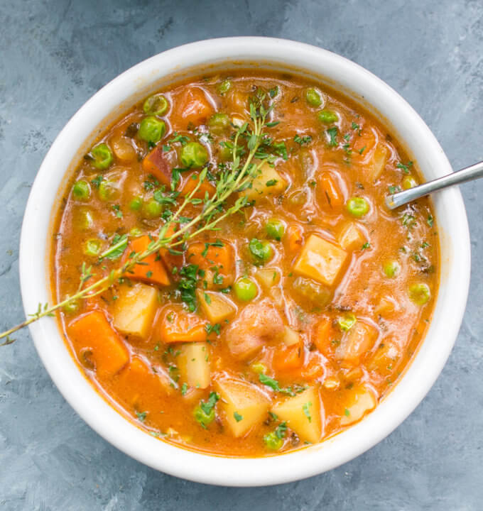 Ultimate Hearty Vegetable Stew | Yup, it's Vegan